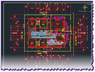download-autocad-cad-dwg-file-Villa-house-with-all-the-architectural-details