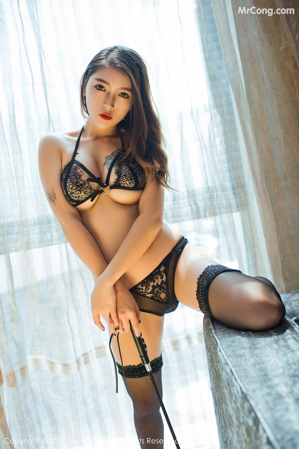 Image XIUREN-No.812-Du-Hua-Hua-MrCong.com-039 in post XIUREN No.812: Người mẫu Du Hua Hua (杜花花) (48 ảnh)