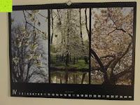 April: Laurent Pinsard 2016 - Triplets Posterkalender Naturkalender quer - 64 x 48 cm