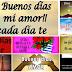 10 Hermosas Postales De Buenos Dias Amor - Hola Mi Amor Me Desperté Con Una Gran Sonrisa, Por Que Pensaba En Ti Y  Queria Decirte Que Te Amo Y Muy Buenos Días, DIOS Te Bendiga