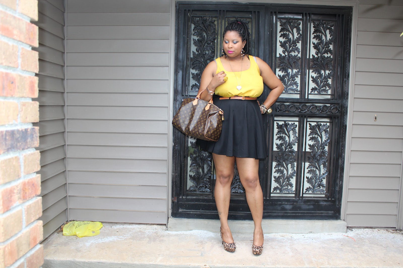 Fashion style How to skater wear skirt plus size for woman