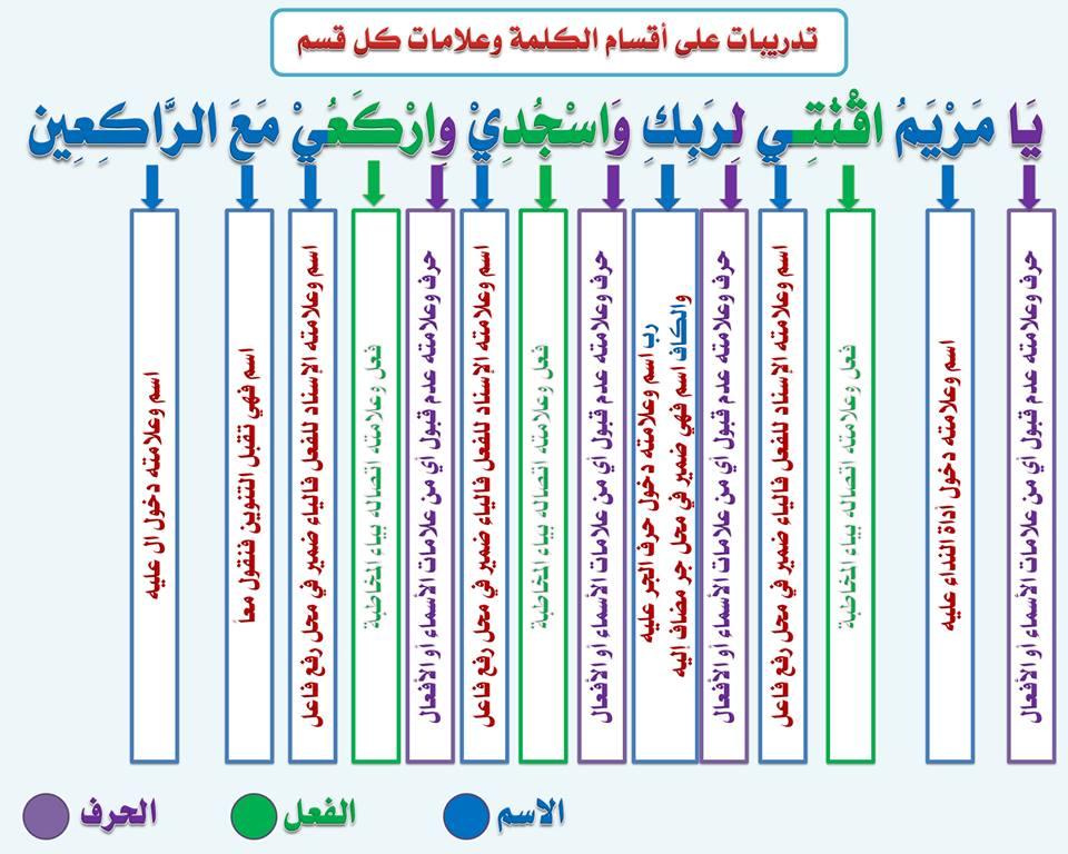 بالصور قواعد اللغة العربية للمبتدئين , تعليم قواعد اللغة العربية , شرح مختصر في قواعد اللغة العربية 7.jpg