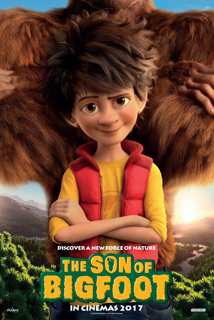 Sinopsis Film Animasi The Son of Bigfoot (2017)