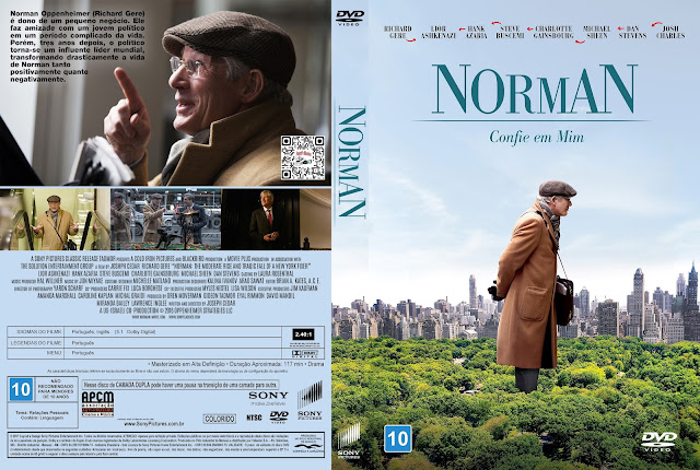 Capa DVD Norman [Exclusiva]