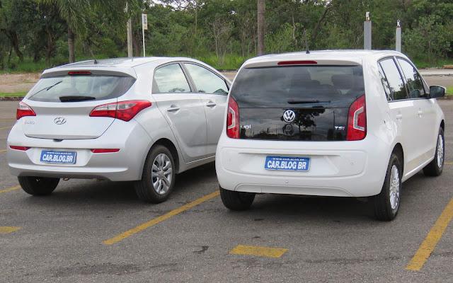 Hyundai HB20 2016 x Volkswagen Up! TSI - comparativo