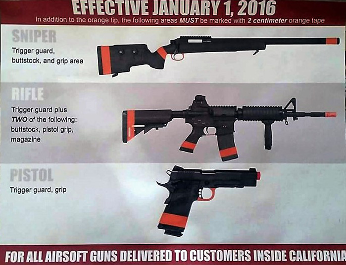 Black Hat's Blog: Airsoft Laws In California 2016 (Must Read!)