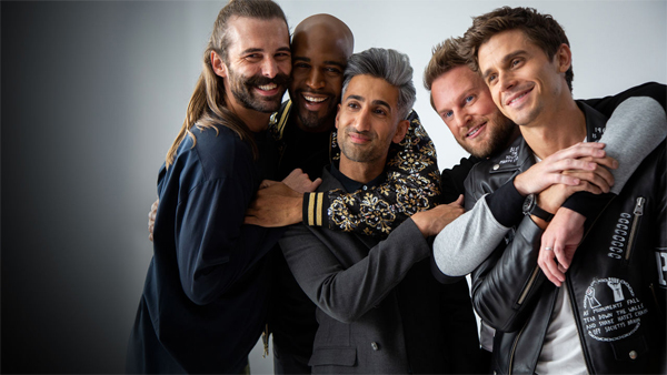 promotional image of the 'Fab Five' on Netflix's 'Queer Eye'