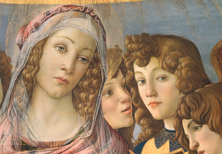 """Mary and Angel"" by S. Botticelli"