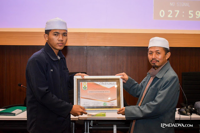 Wakil Rektor 3 IAI Dalwa Hadir Dalam Workshop HMJ MPI | LPMDalwa | Dalwa