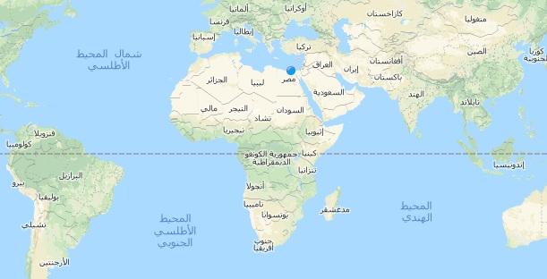 خريطة افريقيا Africa Map مجلة رحالة