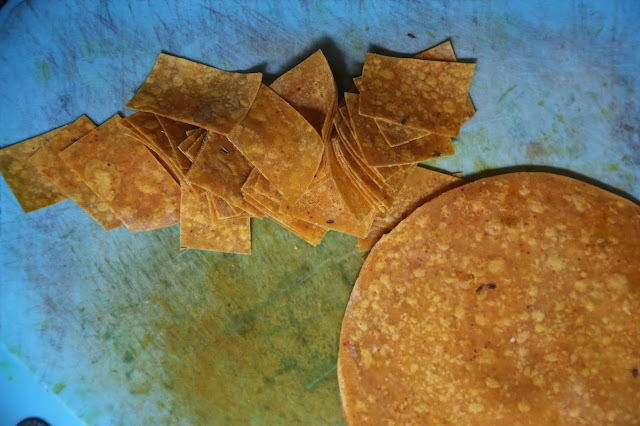 Chapati for Gujurati dal, Thali by Jyoti Vora, Bombay supper club via Authenticook pic: Kerstin Rodgers/msmarmitelover.com