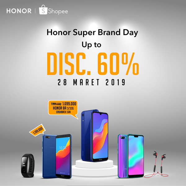 Harga HONOR 8A di Shopee