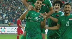 بهدفين بدون رد العراق يحقق الفوز على منتخب هونج كونج في تصفيات آسيا المؤهلة لكأس العالم 2022