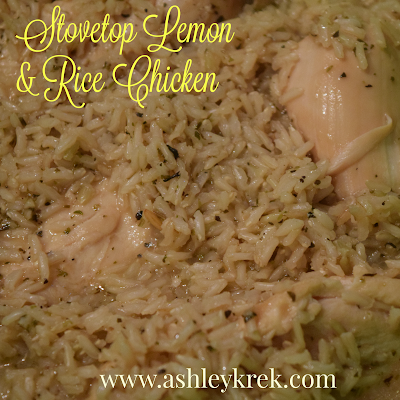 Stovetop Lemon and Rice Chicken