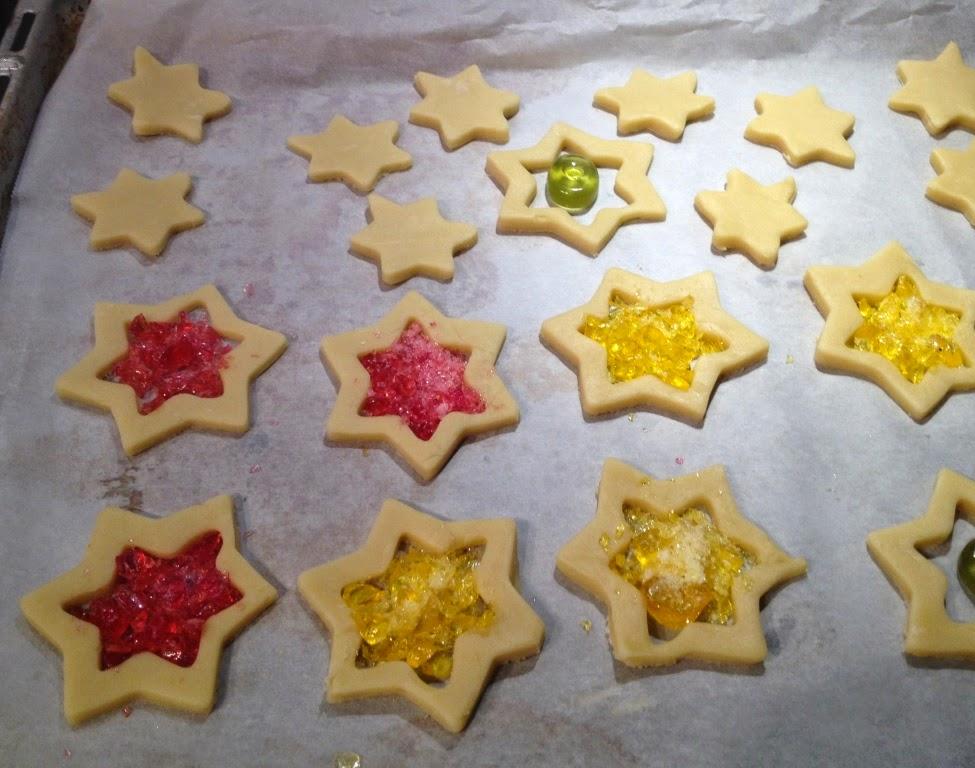 koekjes met verbrokkelde zuurtjes