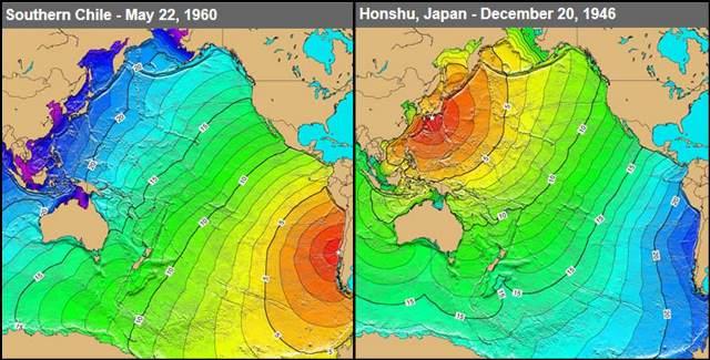 tsunami di samudra pasifik