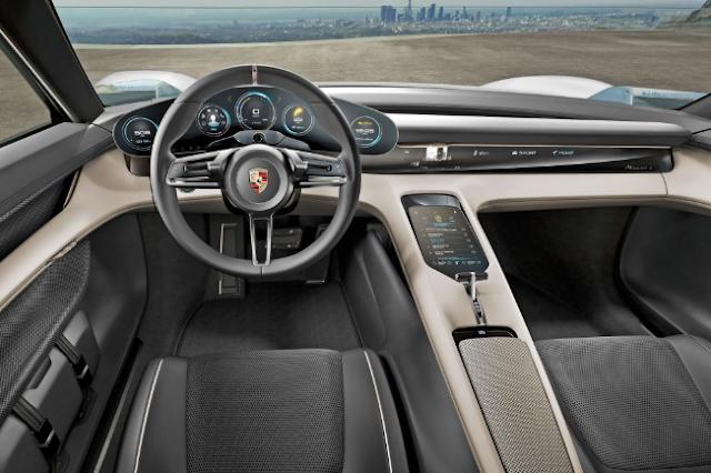 2020 Porsche Taycan Hybrid interior