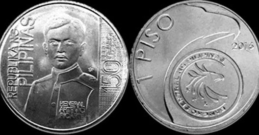 World Coin News: Philippines 1 Piso 2016