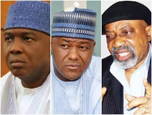 See how Saraki, Dogara and Ngige where embarrassed by angry Nigerian workers during May Day rally (WATCH)