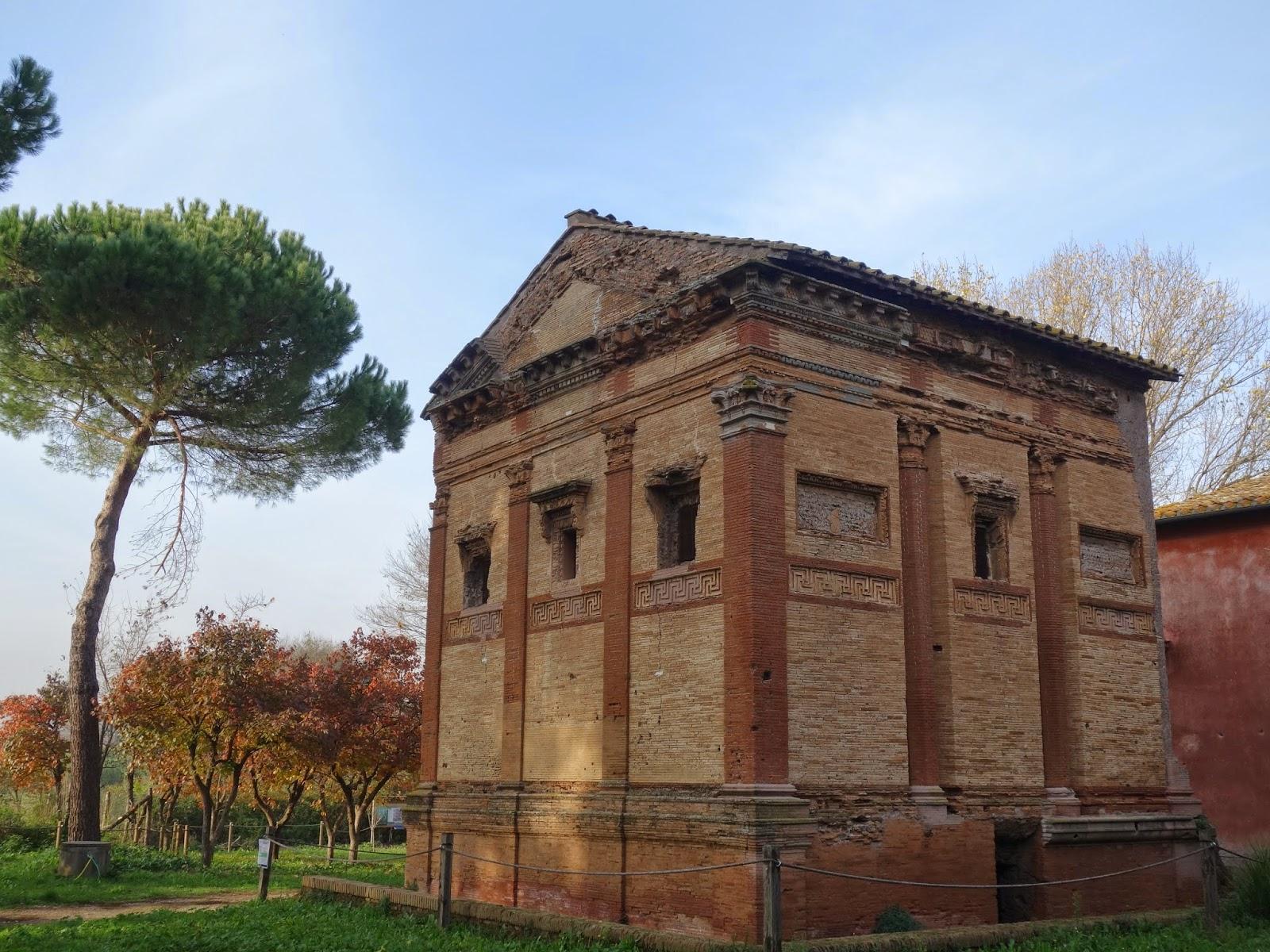Via Appia Annia Regilla - A Via Appia Antiga