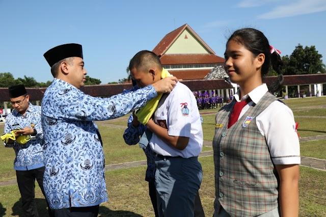 Pemkab Tangerang Peringati Hari Kesadaran Nasional Bersama Calon Paskibra