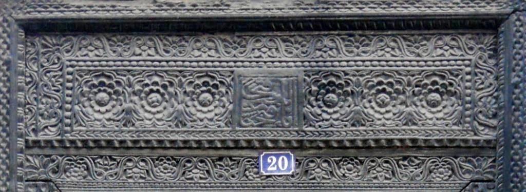 zanzibar, arabische deuren, indische deuren