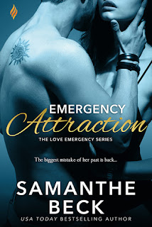 romance novel covers, contemporary romance, Emergency Attraction by Samanthe Beck