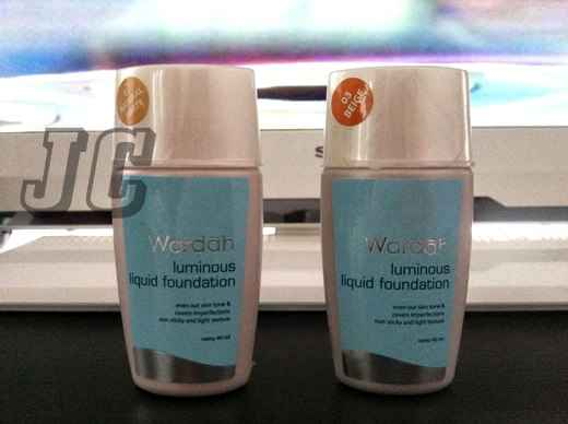 Harga Bedak BB Cream Foundation Produk Wardah Kosmetik
