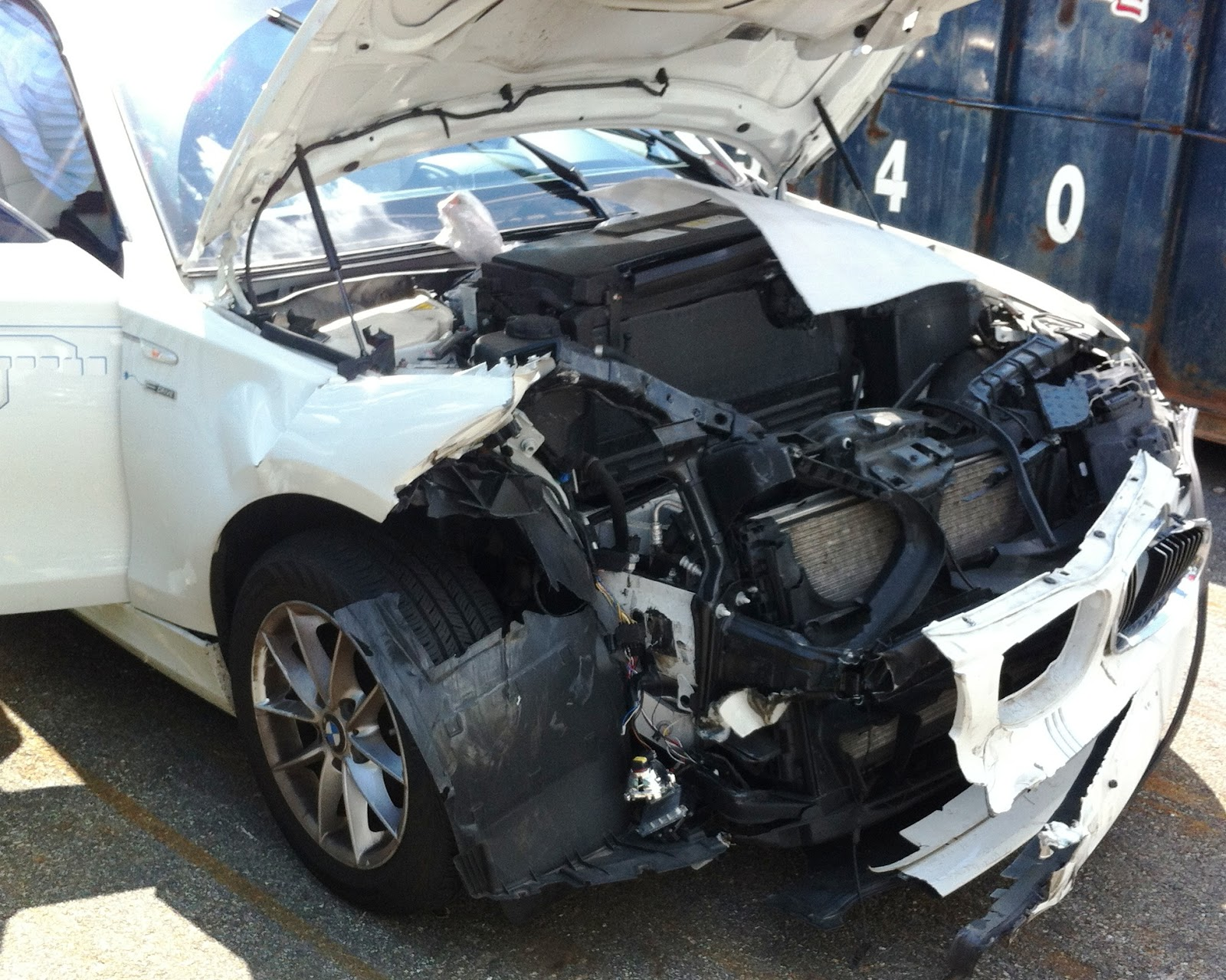 activee mobility: driving an electric bmw 1-series: the untimely end