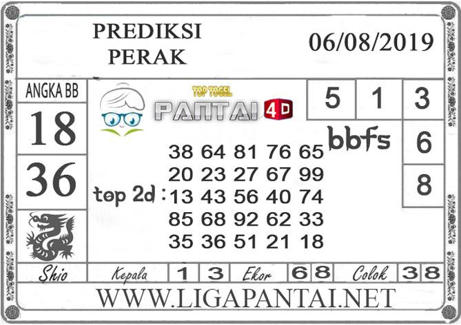 """PREDIKSI TOGEL """"PERAK"""" PANTAI4D 06 AGUSTUS 2019"""
