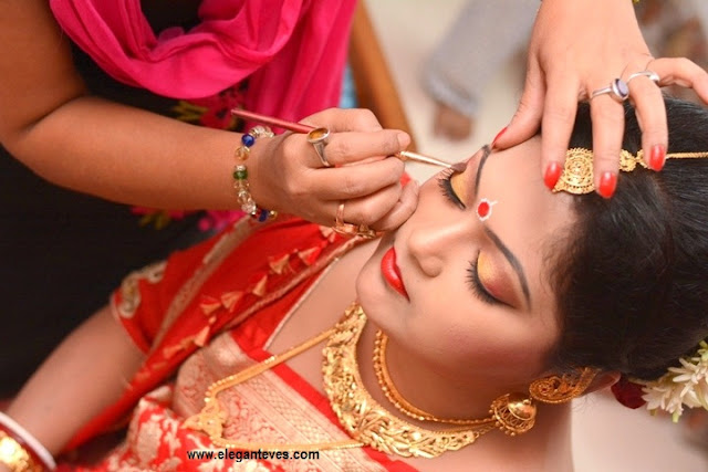Bengali Bridal Makeup, Attire and Jewellery
