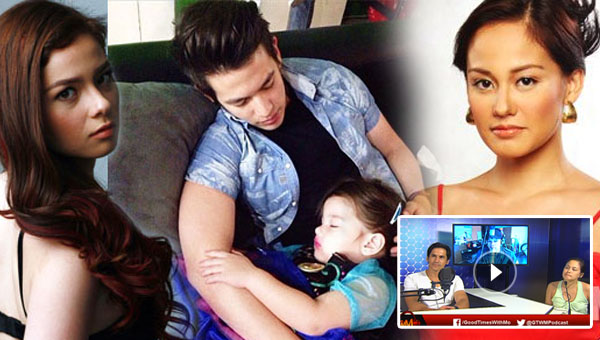 Did Max Eigenmann accidentally confirm that Jake Ejercito is the father of Andi's daughter on GTWM?