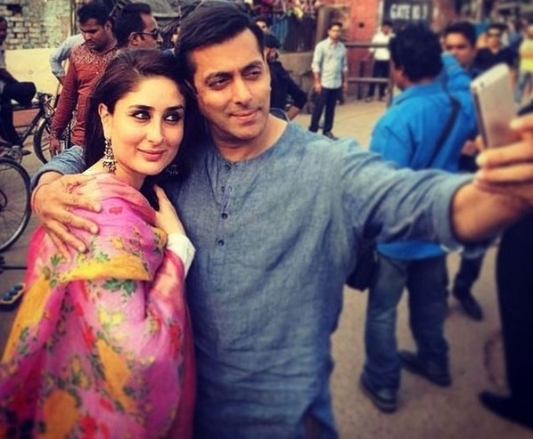 Salman Khan and Kareena Kapoor Khan in Bajrangi BhaiJaan