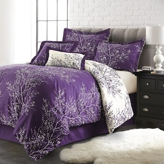 Purple bedroom ideas: Purple set