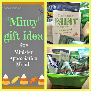 pastor appreciation month, pastor appreciation gift, minister appreciation month, commitMINT gift, candy gift for pastors, $10 gift for pastors