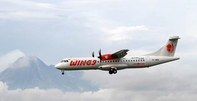 Wings Air Terbang Perdana Jogja Menuju Majalengka