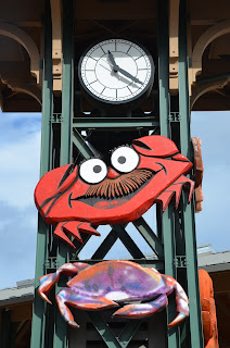 crab clock port angeles