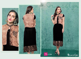 GRACE LYN KURTIS KURTA TOPS WHOLESALER LOWEST PRICE SURAT GUJARAT