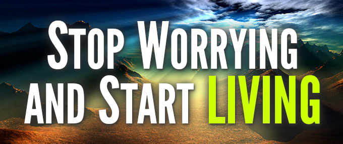 how to stop worrying and start living, Dale Carnegie,