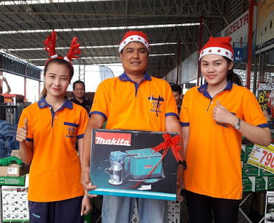 Buriram Thailand New Year 2018 Makita Plunge Router Sale