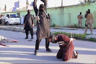 jihad soldier  killing christians