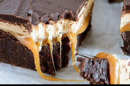 Snickers Brownies Recipes
