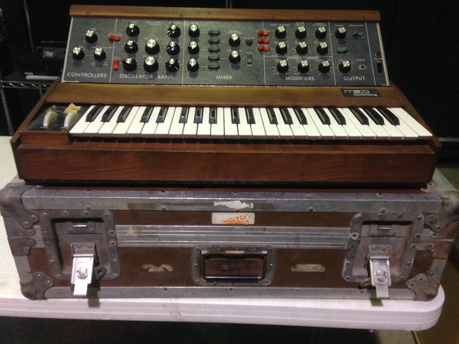 Matrixsynth Wednesday November 18 2015 Xfmr Diy Projects Didn39t You Used To Circuitbend Here Is A Beautiful Moog Model D Minimoog From 1972 The Serial Number 1735 Making It 735th Made Im Second Owner And I Bought