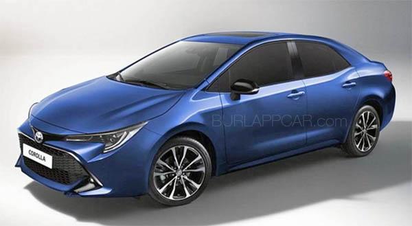 Burlappcar 2019 Toyota Corolla Sedan