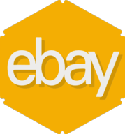 ebay hexagon icon