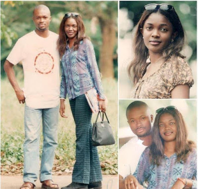 It's so humbling to see how far we've come - Omoni Oboli's husband says as he shares major throwback photos with the actress