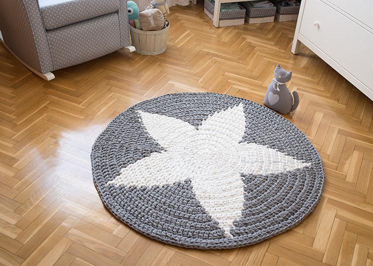Con hilo y aguja alfombra de crochet xxl for Alfombras de hilo
