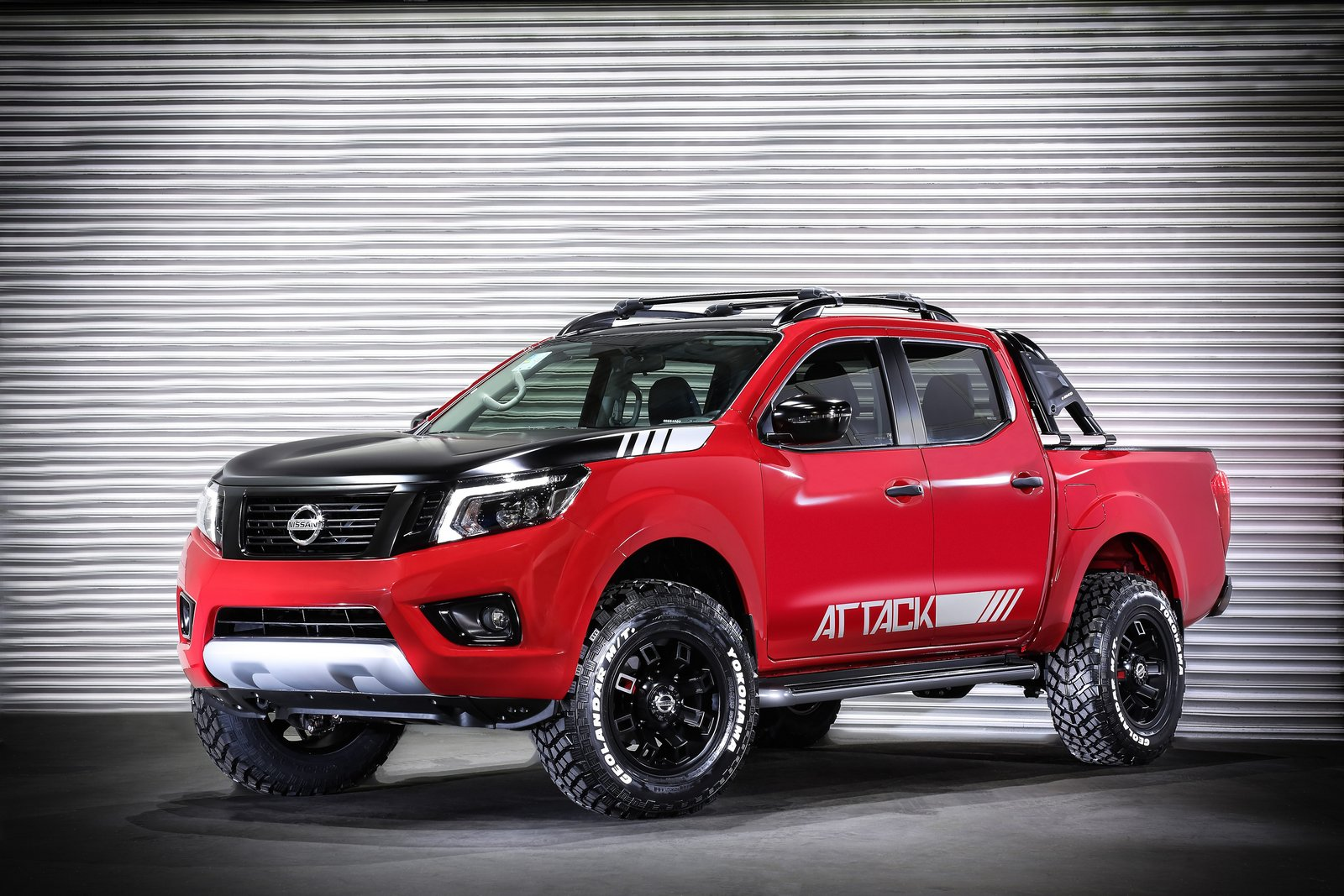 Nissan Frontier Attack Concept Unveiled In Buenos Aires ...