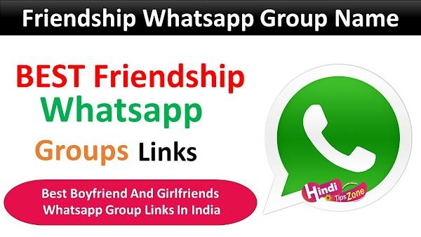 Friendship Whatsapp Group Links: Join Friendship Whatsapp Group Links List