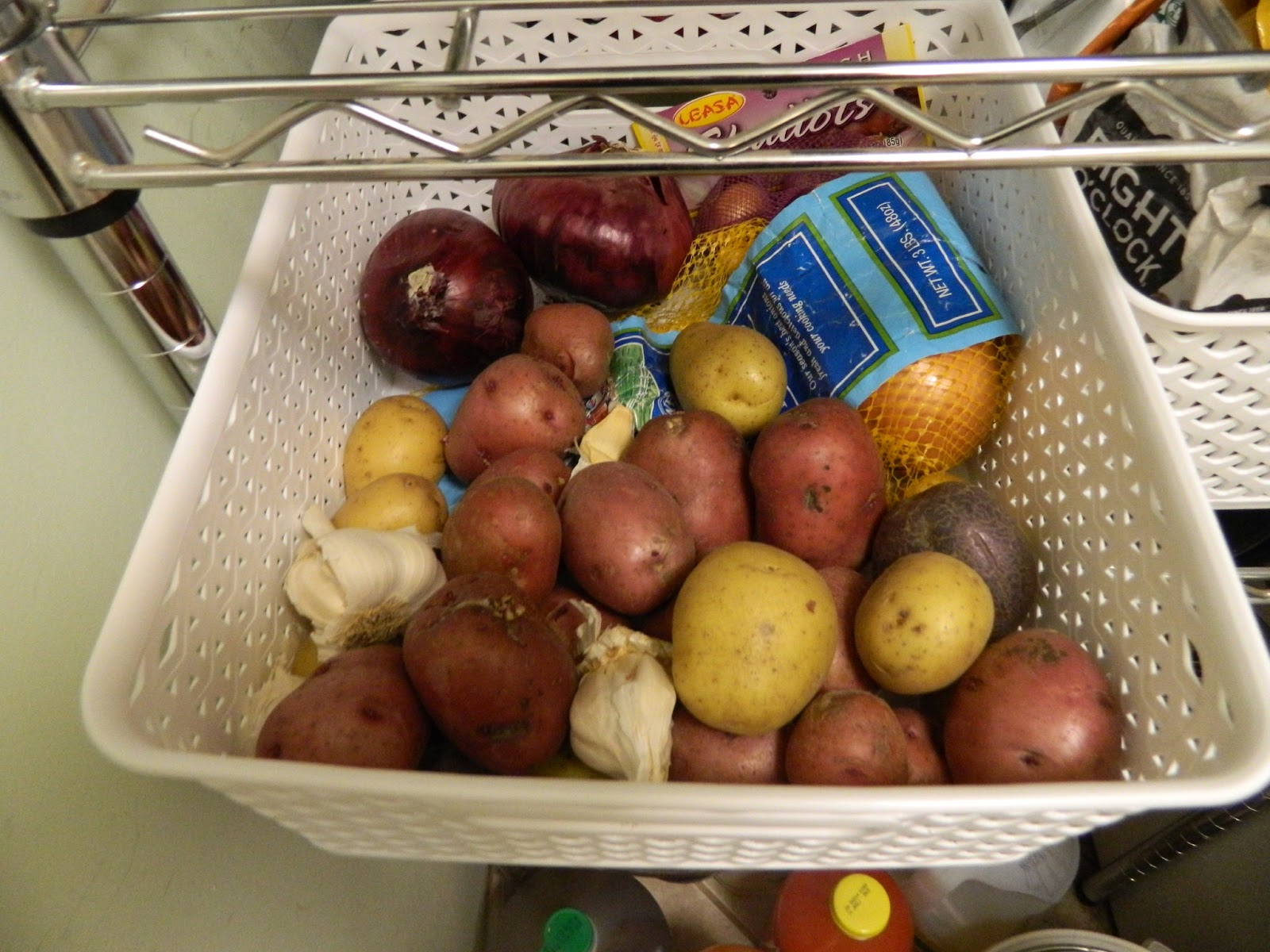 Best Way To Store Potatoes And Onions In Kitchen
